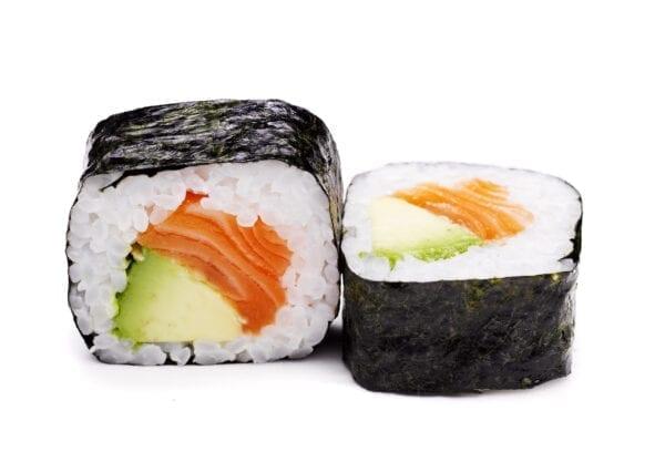 Lohi-avocado futomaki