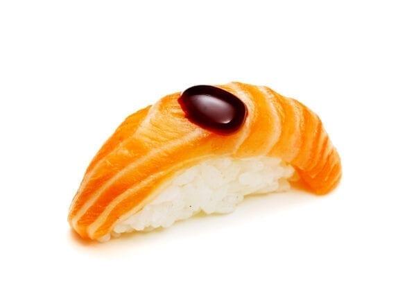 Shake Unagi Sauce Nigiri N/A