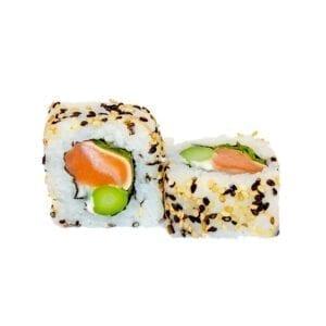 Salmon shiso uramaki
