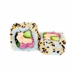 smoked salmon uramaki