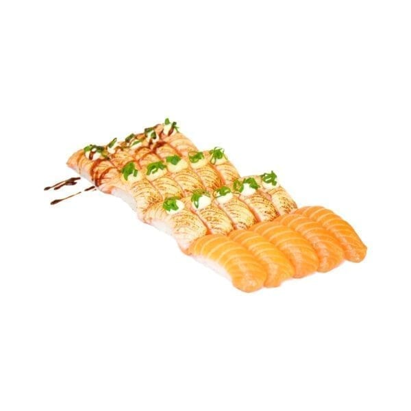salmon nigiri mix 20